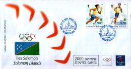 OLIMPIADI DI SYDNEY 2000 - Isole Salomone (1978-...)