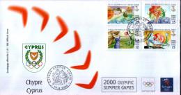 OLIMPIADI DI SYDNEY 2000 - Cipro