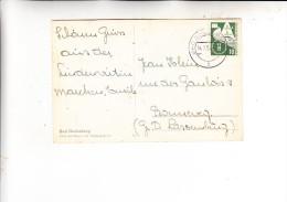 BUND, 1953, Michel 168, Einzelfrankatur Nach Luxemburg, 14.7.1955 - Briefe U. Dokumente