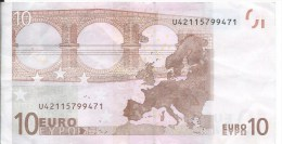 Ancien Billet De 10€ 2002 - 10 Euro