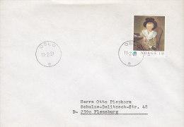 Norway Deluxe OSLO 1981 Cover Brief To FLENSBURG Gemälde H. C. F. Hosenfelder UNICEF Stamp - Briefe U. Dokumente