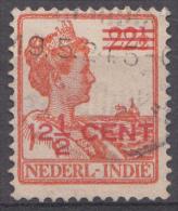 Indes Néerlandaises Mi.nr.:133  Königin Wilhelmina Mit Aufdruck1921  Oblitérés /Used / Gestempeld - Indes Néerlandaises