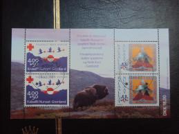 Groenland  Croix Rouge 1993 - Blocks & Sheetlets