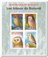 Burundi 2009, Postfris MNH, Birds, Owls