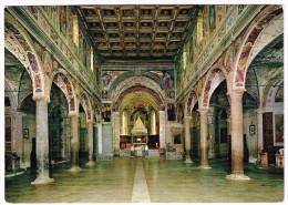 K1302 Badia Di Farfa (Rieti) - Interno Della Basilica / Non Viaggiata - Italia