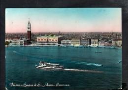 J470 Venezia ( Venice, Italie ) Bacino Di San Marco - Panorama - Navi Ships Bateau - Annullo Venezia - Venezia (Venice)