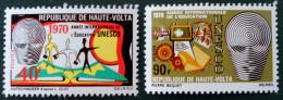 UNESCO 1970 - NEUFS ** - YT 218/19 - MI 293/94 - Obervolta (1958-1984)