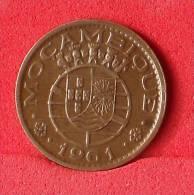 MOZAMBIQUE  20  CENTAVOS  1961   KM# 85  -    (Nº09305) - Mozambique