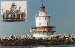 Postcard - Brandywine Shoal Lighthouse, Delaware Bay, USA. #7 - Faros