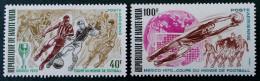 COUPE DU MONDE DE FOOT AU MEXIQUE 1970 - NEUFS ** - YT PA 78/79 - MI 299/00 - Obervolta (1958-1984)