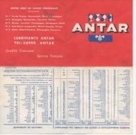 Carte Publicitaire ANTAR - Cartes Routières