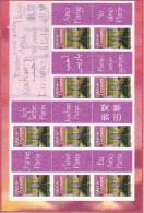 France Bloc Arc De Triomphe N° F3599A Vignette J'aime Paris En 10 Langues - Personalized Stamps