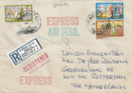 Malta 1991 Sliema SPO Express Registered Cover - Malta