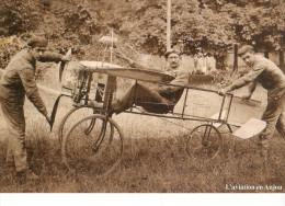 L'aviation En Anjou   (10/10 )  Carte Moderne - ....-1914: Precursores