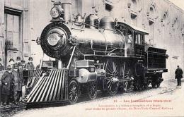 Les Locomotives (Etats Unis) Dampflokomotive New York Central Railway - Eisenbahnen