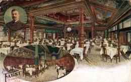 USA ST.LOUIS Restaurant Tony Faust Karte Gel.1910 - Etats-Unis