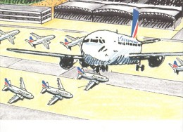 Entier  1992 Aeropostale - 1946-....: Moderne