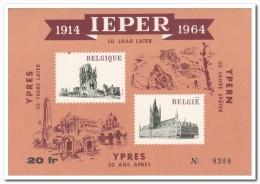 Belgie 1964, Postfris MNH, Ieper First World War - Vignettes D'affranchissement