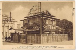 Cpa EXPOSITION INTERNATIONALE DES ARTS DECORATIFS Paris 1925 LE PAVILLON National Du Japon - Ausstellungen