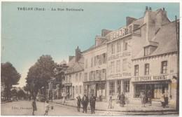 TRELON - La Rue Nationale - Autres Communes