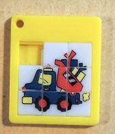 Taquin - Pousse Pousse -  Mini - Camion Benne - Casse-têtes