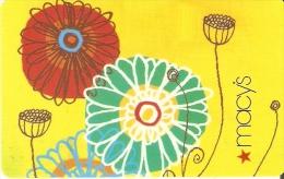 TARJETA DE REGALO DE MACY'S (GIFT CARD-CADEAU) - Tarjetas De Regalo