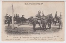 51 BETHENY - FETES FRANCO-RUSSES -Landau De S.M L'Impératrice Et Son Escorte - Bétheny