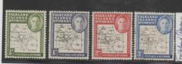 Falkland (Dependencies) I, 2 II, 2 II 4 I, 1946 And 1949 ** - Falklandinseln