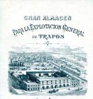 ESPAGNE.BARCELONA.F.FARGE Y Cia  CALLE ALVAREDA 44 Y 46. - Spain
