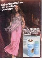 1970 -  Deodorante ROBERTS DEODORO   -   1  Pubblicità Cm. 13 X 18 - Riviste
