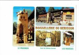 39 - LE FRASNOIS - Jura - Boissellerie Du Hérisson - 4 Vues - - France