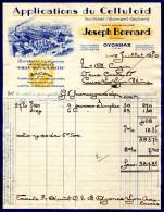 01.AIN.OYONNAX.APPLICATIONS DU CELLULOÏD.JOSEPH BORNARD.USINE  A BOURG EN BRESSE. - France