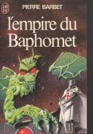 Barbet L'empire Du Baphomet     Tbe - J'ai Lu