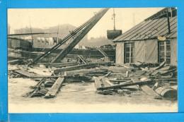 CP, Inondations De Paris Janvier 1910 - Les Dégats Quai Des Tuileries, Vierge - Inondations De 1910