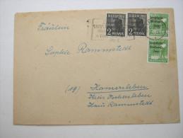1948, Brief Aus Leipzig - Sowjetische Zone (SBZ)