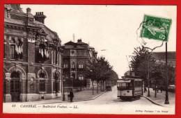 CPA 59 - CAMBRAI - Gare Du Cambraisis Et Tramway Sur Le Bd Vauban  - LL 41 - CV 114 - Cambrai
