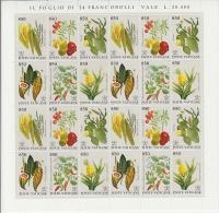 Vatican City 1992 Plants 6v In Sheetlet ** Mnh (F2478) - Gebruikt