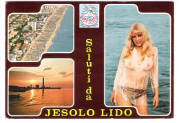 Italy - Jesolo Lido - Pin Up Girl - Nude Girl - Erotik - Erotic - Femme - Pin-Ups