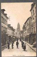 ORBEC . La Rue Grande . - Orbec
