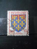 FRANCE Armoirie D'artois N°899 Oblitéré - 1941-66 Wappen