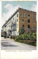 [DC5865] CARTOLINA - SALSOMAGGIORE - GRANDE ALBERGO MILANO - ANIMATA - Non Viaggiata - Old Postcard - Parma