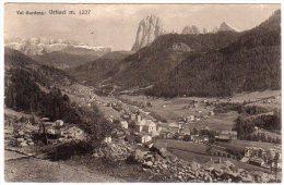 ORTISEI (BZ) - PANORAMA  - F/P - V: 1932 - Bolzano (Bozen)