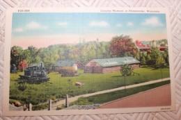 BB - USA - WISCONSIN - RHINELANDER - LOGGING MUSEUM AT RHINELANDER - Etats-Unis
