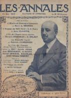 LES ANNALES N°1564 Du 15/06/1913. Gabriele D´Annunzio, Arcachon, Île De Chypre... R.E. PEARY L´homme Du Pôle N. Corrida - Allgemeine Literatur