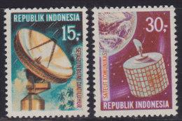 1459. Indonesia, 1969, Satellite, MNH (**) (Michel 654/655) - Indonésie
