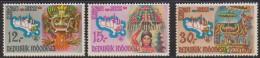 1440. Indonesia, 1969, Tourism, MNH (**) - Indonésie