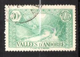 Andorre N° 32 Oblitéré  Cote Y&T  4,00  €uro  Au Quart De Cote