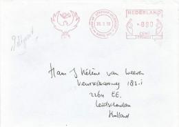 Netherlands Nederland 1998 NAPO 500 Field Post UNPROFOR FM50331 Meter Franking Cover - Period 1980-... (Beatrix)