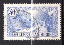 Andorre N° 33 Oblitéré  Cote Y&T  12,00  €uro  Au Quart De Cote