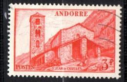 Andorre N° 120  Oblitéré  Cote Y&T  5,25  €uro  Au Quart De Cote